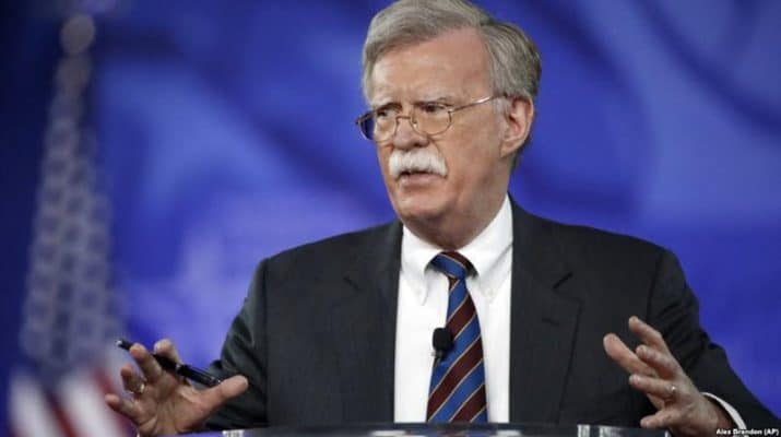 ifmat - Bolton ruins Iran nuclear holiday as Trump warns on Syria