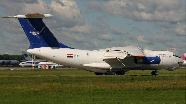 ifmat - Large Syrian cargo plane leaves Iran for military airbase