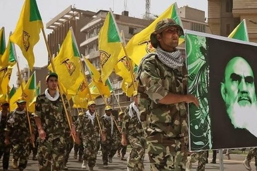 Paramilitary group Hezbollah affiliated with Iranian Regime
