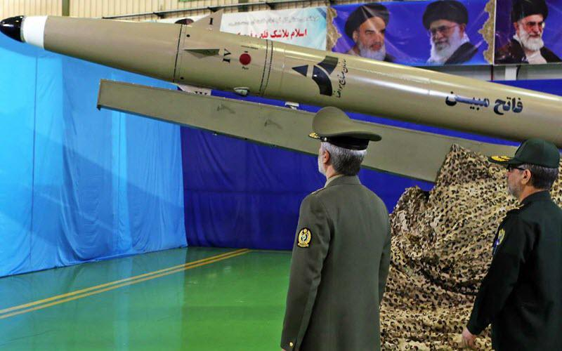 ifmat - Iranian missiles stored uncovered in Syria