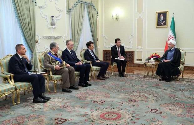 ifmat - Rouhani says Iran ready to expand economic ties with Italy