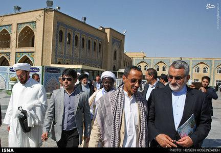 ifmat - Ali Elahi in Iran in August 2015 attending Ahl Al-Bayt Assembly conference
