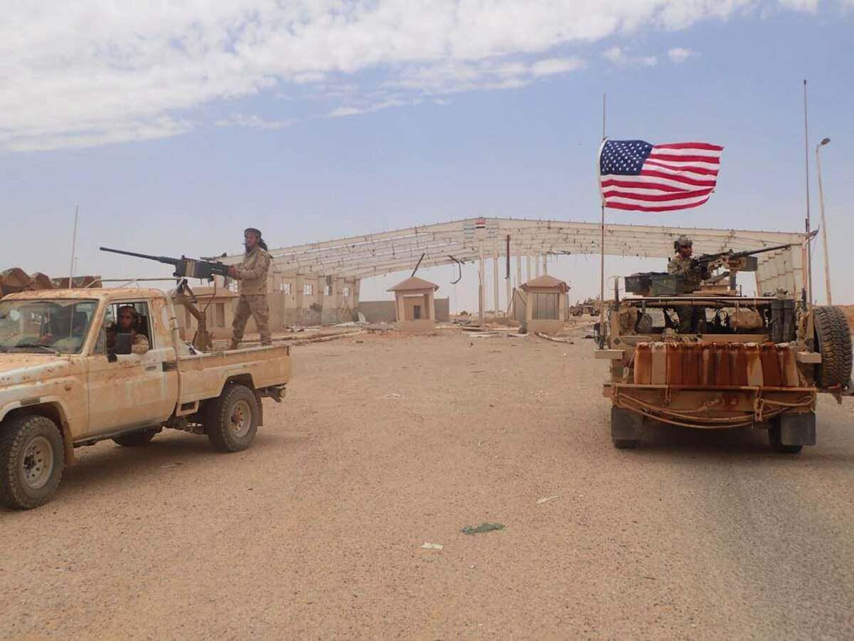 ifmat - Congress is woried about an Iranian threat to a small garrison of US commandos in Syria