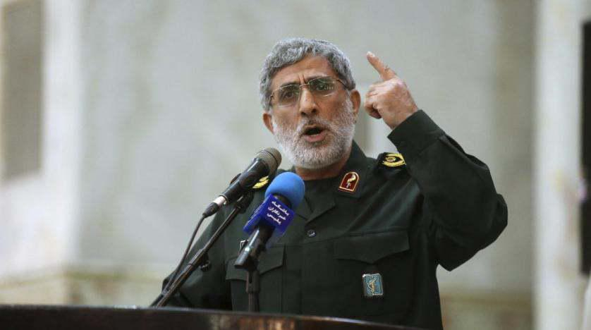 ifmat-Quds Force Commander in Baghdad for 1st Time since Soleimani Killing