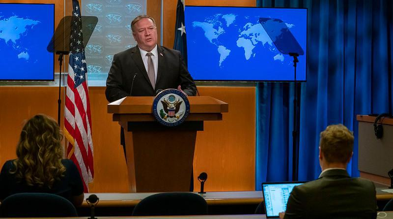 ifmat - Pompeo says US trying to prevent Iran from selling Oil to Hezbollah