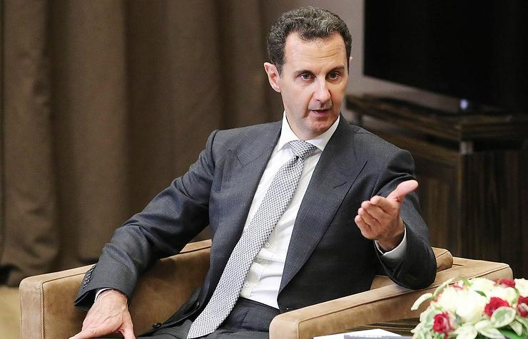 ifmat - Syria Assad hails new military agreement with Iran