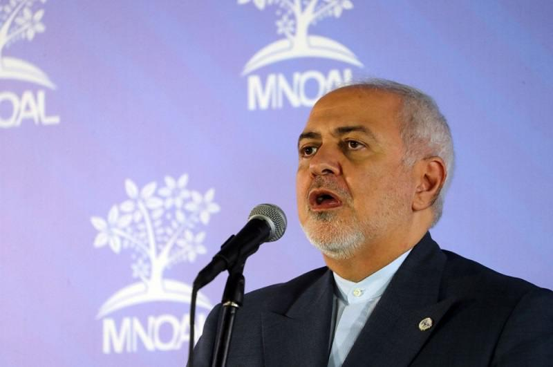 ifmat - Iran FM Zarif should be held to account for terrorism