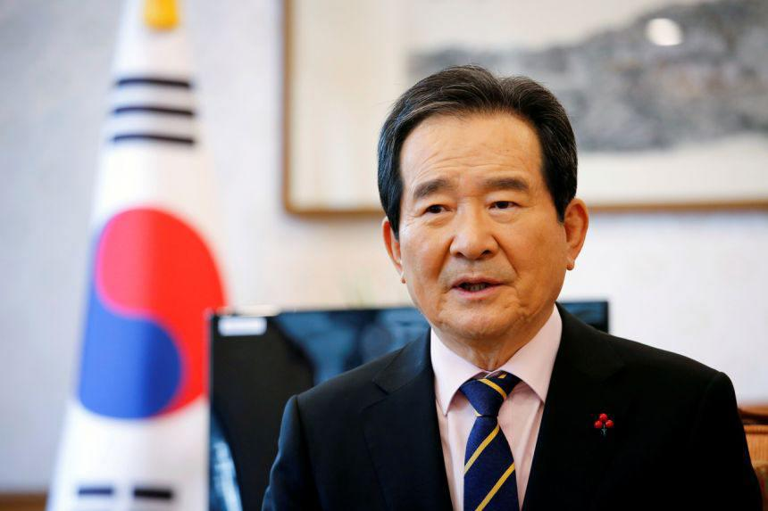 ifmat - South Korean premier Chung Sye-Kyun to visit Iran to discuss frozen billions